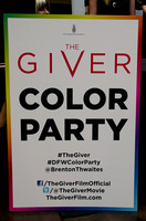 THE GIVER Color Party Fan Event @ NorthPark Center