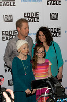 EDDIE THE EAGLE Premiere Event and Red Carpet @ Cinemark West Plano